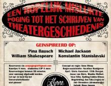 Een hopelijk mislukte poging tot het schrijven van theatergeschiedenis